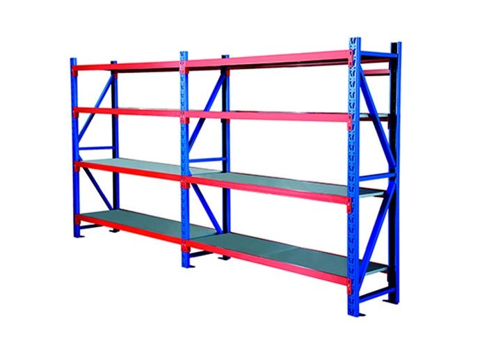 Adjustable Medium Duty Storage Racks With Three Dimensional Structure