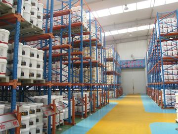 Large Capacity Drive In Pallet Rack Long Life Spend For Warehouse Storage