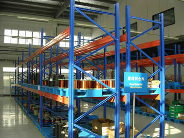 Easy To Store Heavy Duty Metal Storage Racks Customized Color For Warehouse