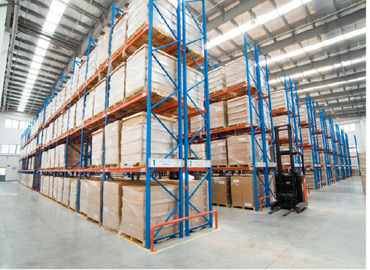 Heavy Duty Warehouse Shelving , Large Capacity Industrial Storage Shelves