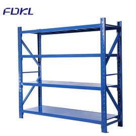 Long Span Light Duty Storage Rack Corrosion Protection For Warehouse / Hymarket