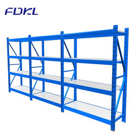 China Corrosion Protection Storage Steel Shelves , Industrial Free Standing Shelving factory