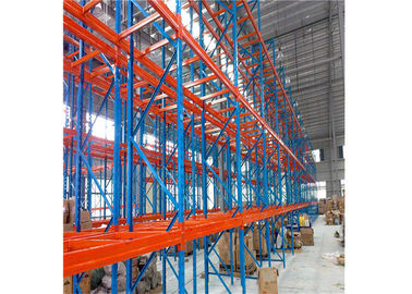 Heavy Duty Drive In Pallet Rack Customized Loading Capacity CE Certification