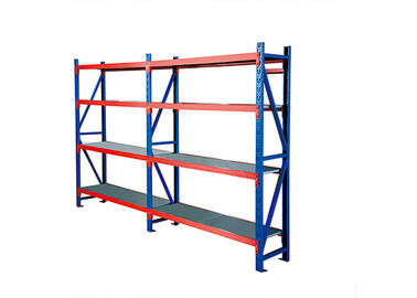 China Heavy Duty Industrial Storage Racks Metallic / Powdered Coated Material factory