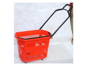 21-28L Supermarket Shopping Basket Comfortable And Portable Color Optional