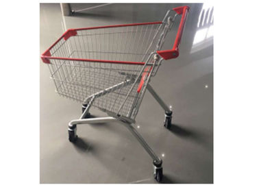 Four Wheel Shopping Trolley 135/175/220L Liters With Anti bumper Plastic Parts
