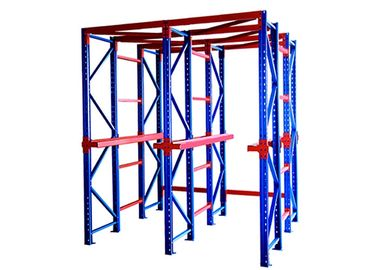 Modern Style Drive In Pallet Rack Corrosion Protection 3 Years Warranty