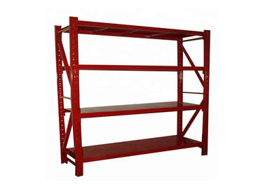 Fashion Style Medium Duty Storage Racks With Uprights Frame And Beams