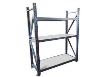 China Light Duty Warehouse Storage Racks , Industrial Racking Steel Shelving factory