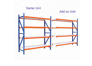 China Flexible Design Light Duty Storage Rack Easy To Assembly With Compatible Frames factory