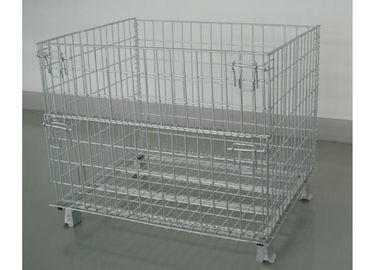 China Fashion Type Warehouse Storage Cages Heavy Duty Type With SPCC Material factory