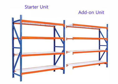 Multi Lever Industrial Stainless Steel Shelving With Three Dimensional Structure