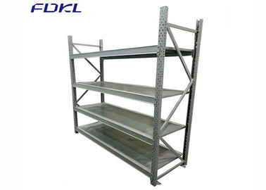 China Heavy Duty Warehouse Metal Storage Racks 200-500KG UDL Per Level Loading Capacity factory