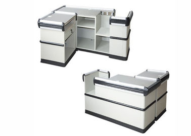 China Modern Cash Register Checkout Counter With Firm And Stable Structure factory