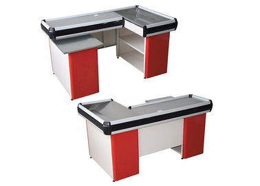 China Multi Color Grocery Store Checkout Counter Anti Rust Cold Rolled Steel Material factory