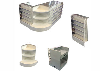 China Stainless Steel Retail Register Counter , Fast Checkout Cash Register Table factory